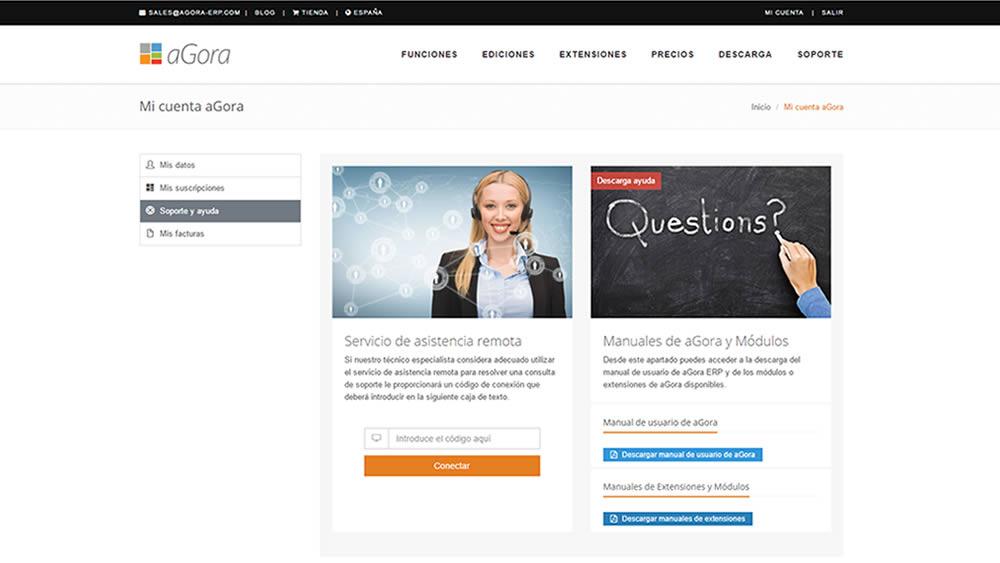 Manual de aGora.webLeads en la zona de usuario